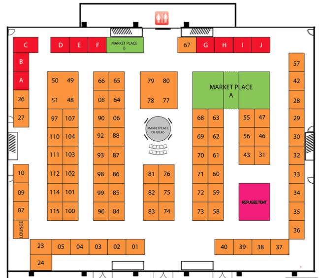 Exhibition Booth Layout : Exhibit booth assignments